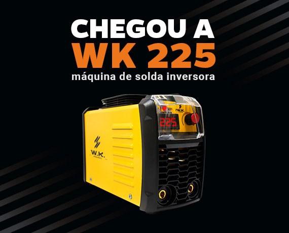 Pró Euro Máquina De Solda Inversora Portátil 225a 220v - Wk