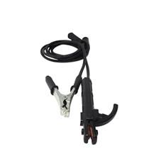 Cabo grampo terra 12mm 2m + porta eletrodo 12mm 3m - e/r 9mm