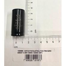 Capacitor eletrolitico 2200uf x 200v 30mm x 60mm 105°c pró euro