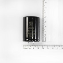 Capacitor eletrolitico 470uf 450v snap in 35x50mm (dxh)