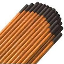 Carvão grafitado 3/8 - eletrodo de carvão carbono - 10 uni
