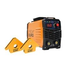 Gp 160 mod 2020 220v pro euro + 2 esquadros magnetico 12kg