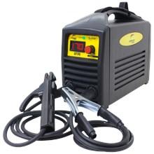 Kit maquina solda inversora german tools gt 170 220v + escudo + escova aço + luva pigmentada + 250g eletrodo 6013 3,25mm
