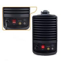 Maquina corte plasma cut 60 220v pro euro + mascara pcr-911 + luva de couro