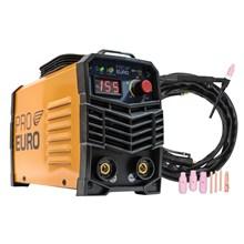 Máquina de solda inversora 155a 127v pró euro + tocha seca tig 9mm