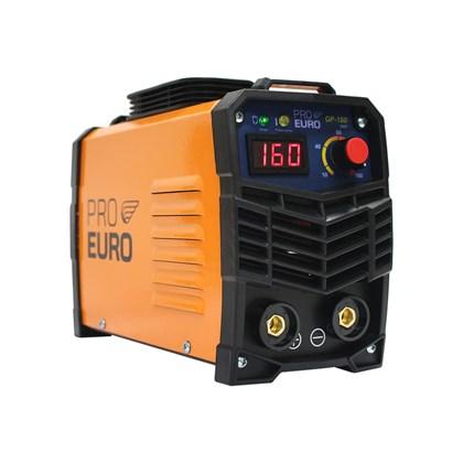 Máquina de solda inversora portátil gp 160a 220v - pró euro