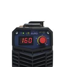 Maquina solda inversora gp 160 220v mod 2020 pro euro + mascara pcr-911 + luva de couro