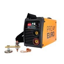 Maquina solda inversora gp 165 bivolt pro euro + aterrador magnetico para soldas eletricas