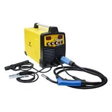 Maquina solda inversora mig/mma wk 230 220v wk + aterrador magnetico para soldas eletricas
