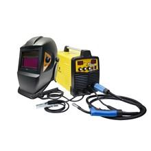 Maquina solda inversora mig/mma wk 230 - 220v - wk + mascara automatica preta