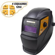 Mascara de solda automatica pro euro pcr-911 + 4 esquadros magneticos 12kg