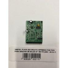 Placa de circuito impresso pcb pwm para maquina de solda gt 170 german tools
