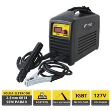 Semi novo - maquina solda inversora mma gt 160 127v - german tools