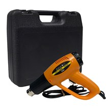 Soprador térmico profissional 127v 1600w 500ºc - pró euro + maleta plástica preta
