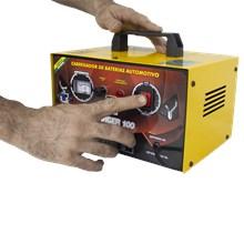 Usado - carregador de baterias 10a - charger 100 - bivolt - v8 brasil