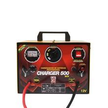 Usado - carregador de baterias charger 500 box - bivolt mon 60hz 50a