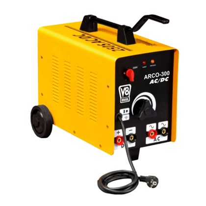Usado - máquina solda transformador arco dc 300 220v v8 brasil
