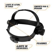 Usado - mascara solda automatica industrial - pcr-912 - tripla regulagem - pro euro